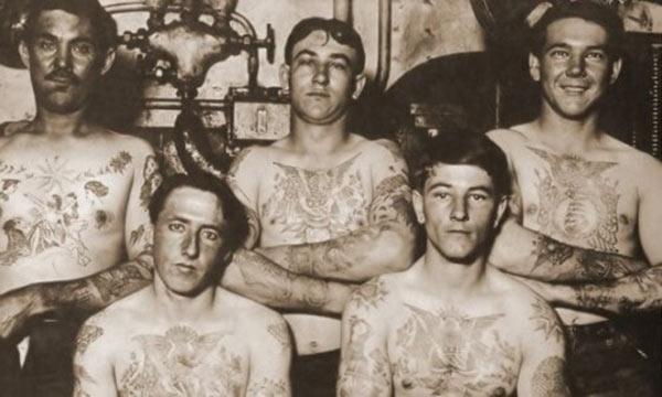 tatuaggi old stile vintage