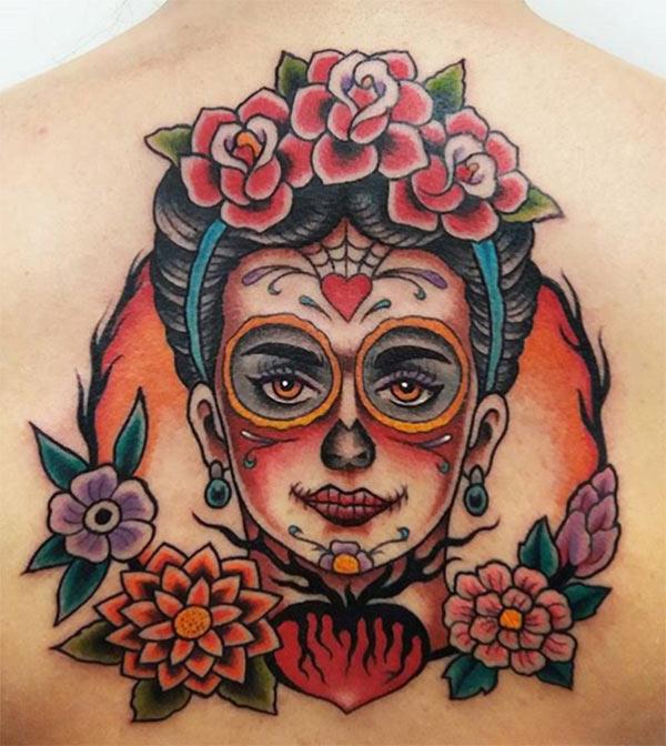 Tatuaggio frida kahlo
