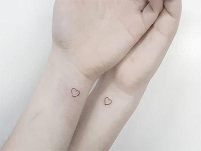 cuoricini tattoo