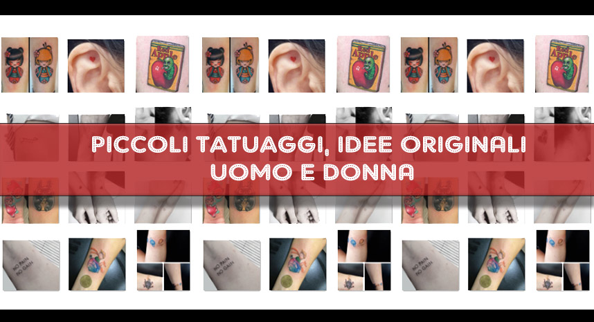 idee piccoli tatuaggi