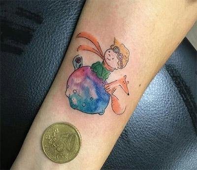 piccolo tatuaggio