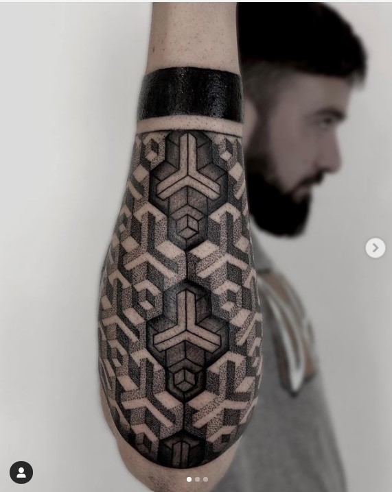 Tatuaggio tecnica del dotwork