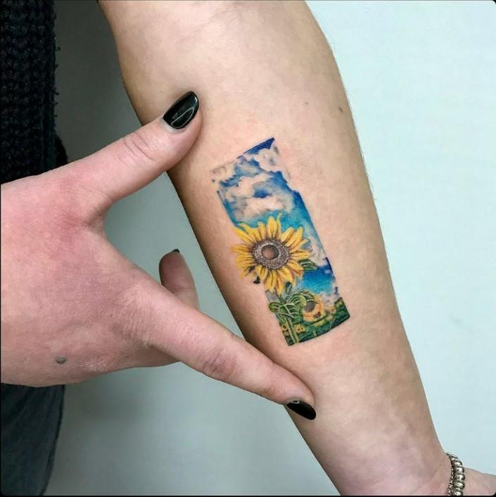 girasole tattoo